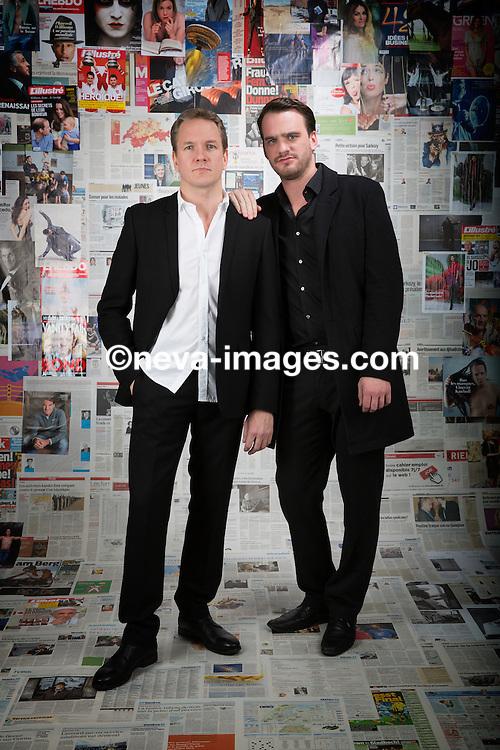 Vincent Kucholl and Vincent Veillon, studio shoot