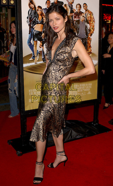 "JILL HENNESSY.Attends MGM's World Premiere of ""Be Cool"" held at The Grauman's Chinese Theatre in Hollywood, California, USA, February 14th 2005.full length.Ref: DVS.www.capitalpictures.com.sales@capitalpictures.com.©Capital Pictures."