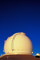 The technology of the keck telescope on Mauna Kea