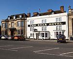 Historic buildings The Bear Hotel, Devizes, Wiltshire, England, UK,