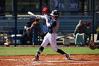 Peter Jelenic (6) of Medina, Ohio during the Baseball Factory All-America Pre-Season Rookie Tournament, powered by Under Armour, on January 14, 2018 at Lake Myrtle Sports Complex in Auburndale, Florida.  (Michael Johnson/Four Seam Images)