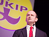 UKIP 2015 Spring Conference at the Winter Gardens Margate, Great Britain <br /> 28th February 2015 <br /> <br /> <br /> Douglas Carswell MP<br /> UKIP MP for Clacton on Sea <br /> Breaking Open the Westminster Cartel <br /> <br /> <br /> <br /> <br /> Photograph by Elliott Franks <br /> Image licensed to Elliott Franks Photography Services