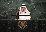 Saudi Arabia<br /> H.E. Mr. Adel Ahmed Al-Jubeir<br /> Minister of Foreign Affairs