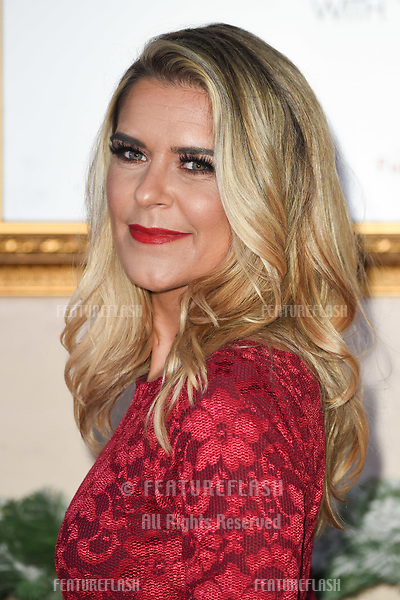 """LONDON, UK. November 21, 2018: Gemma Oaten at the """"Surviving Christmas with the Relatives"""" premiere at the Vue Leicester Square, London.<br /> Picture: Steve Vas/Featureflash"""
