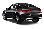 Car pictures of rear three quarter view of 2020 Mercedes Benz GLC-Coupe GLC300 5 Door SUV Angular Rear