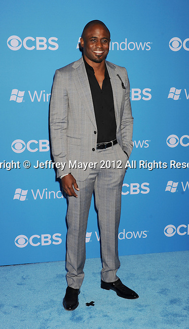 WEST HOLLYWOOD, CA - SEPTEMBER 18: Wayne Brady arrives at the CBS 2012 fall premiere party at Greystone Manor Supperclub on September 18, 2012 in West Hollywood, California.