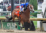 May 4, 2019 : Mr. Money, trained by Bret Calhoun, wins the American Turf (G2) at Churchill Downs on May 4, 2019 in Louisville, KY. Jessica Morgan/ESW/CSM