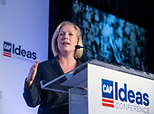 United States Senator Kirsten Gillibrand (Democrat of New York) makes remarks at the Center for American Progress' 2018 Ideas Conference at the Renaissance Hotel in Washington, DC on Tuesday, May 15, 2018.<br /> Credit: Ron Sachs / CNP<br /> (RESTRICTION: NO New York or New Jersey Newspapers or newspapers within a 75 mile radius of New York City)