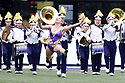 SEATTLE, WA - September 29:  Washington baton twirling Jazee Griffith entertained fans before the game between the Washington Huskies and the BYU Cougars on September 29, 2018 at Husky Stadium in Seattle, WA. Washington won 27-20 over BYU.
