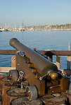 cannon on Stearn's Wharf
