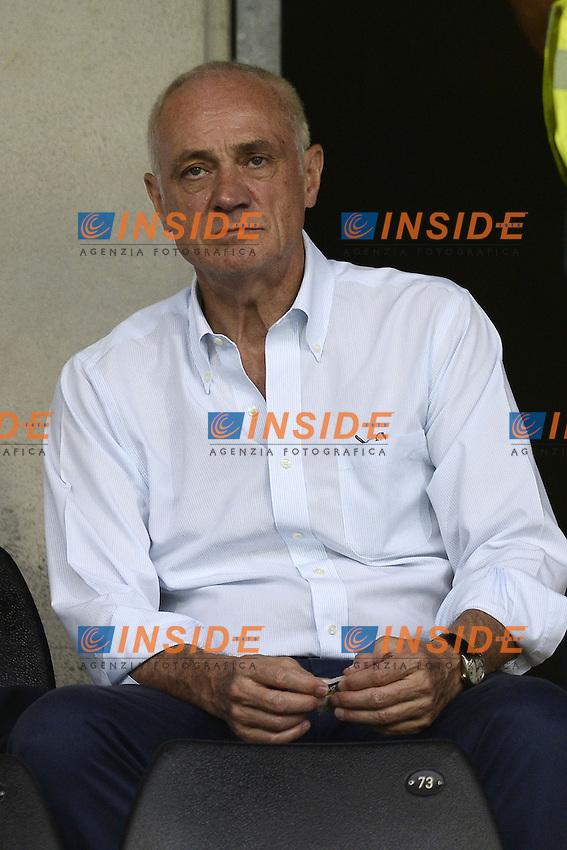 Antonio Percassi Presidente Atalanta <br /> Bergamo 02-08-2014 Stadio Atleti Azzurri d'Italia <br /> Calcio 2014/2015 Atalanta - Nantes <br /> Foto Daniele Buffa / Image/ Insidefoto