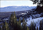 View of Lake Tahoe from Homewood Ski Area