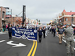The Nevada band participates in the Nevada Day Parade on Saturday, October 29, 2016.