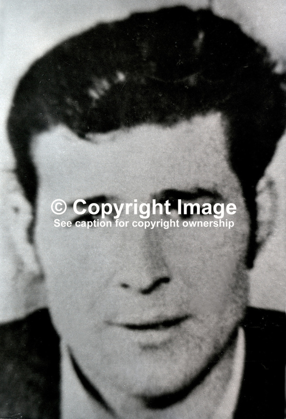 Oliver McKiernan, Co Fermanagh, N Ireland, Provisional IRA escapee, Portlaoise Prison, Rep of Ireland, 18th August 1974. Altogether 19 prisoners escaped. 197408180459OMK..Copyright Image from Victor Patterson, 54 Dorchester Park, Belfast, United Kingdom, UK...For my Terms and Conditions of Use go to http://www.victorpatterson.com/Victor_Patterson/Terms_%26_Conditions.html