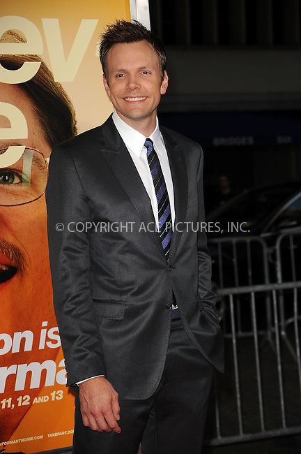 WWW.ACEPIXS.COM . . . . . ....September 15 2009, New York City....Joel McHale arriving at the 'The Informant' benefit screening at the Ziegfeld Theatre on September 15, 2009 in New York City.....Please byline: KRISTIN CALLAHAN - ACEPIXS.COM.. . . . . . ..Ace Pictures, Inc:  ..tel: (212) 243 8787 or (646) 769 0430..e-mail: info@acepixs.com..web: http://www.acepixs.com