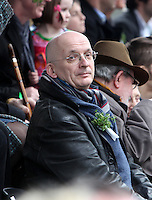 17/03/2011.Author Roddy Doyle.during the St. Patrick's Day festival in Dublin's City Centre..Photo: Gareth Chaney Collins
