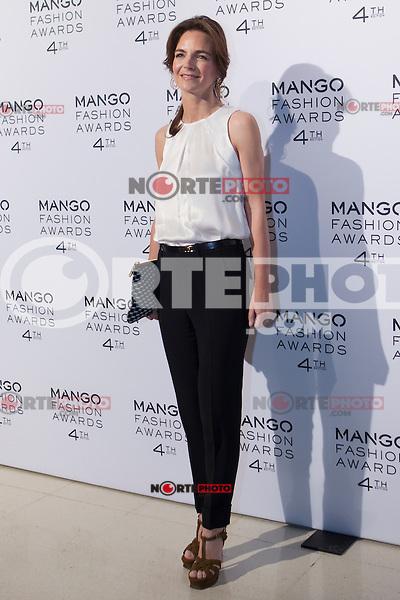 María García de la Rasilla attends the Mango Fashion Awards,  Barcelona Spain, May 30, 2012.