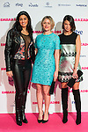 """Nya de la Rubia, Lisi Linder and Andrea del Rio attends to the premiere of the film """"Embarazados"""" at Capitol Cinemas in Madrid, January 27, 2016.<br /> (ALTERPHOTOS/BorjaB.Hojas)"""