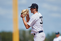 New York Yankees Garrett Whitlock (37) gets ready to deliver a pitch during an Instructional League game against the Baltimore Orioles on September 23, 2017 at the Yankees Minor League Complex in Tampa, Florida.  (Mike Janes/Four Seam Images)