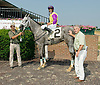 Silver Applause winning at Delaware Park on 6/21/12