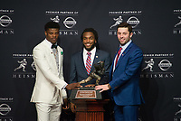 Stanford Football 2017 Heisman Trophy, December 9, 2017