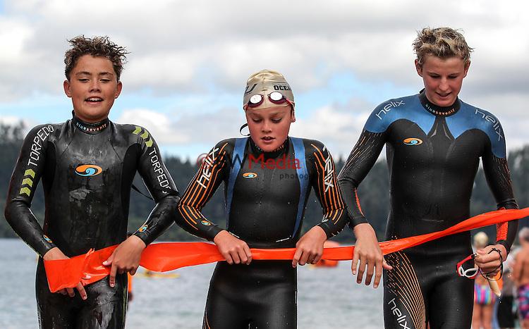 General shots. Legend of the Lake, Rotorua, Blue Lake, New Zealand. Sunday 28 February 2016. Photo: Simon Watts/ www.bwmedia.co.nz <br /> All images &copy; Ocean Swim NZ and BWMedia.co.nz