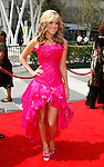 LOS ANGELES, CA. - September 13: Actress Paige Hemmis arrive at the 60th Primetime Creative Arts Emmy Awards held at Nokia Theatre on September 13, 2008 in Los Angeles, California.