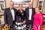 John and Michelle Flynn, Evonne and Cathal O'Connor attending the Scoil Eoin Valentine's Ball Fundraiser in the Ballygarry House Hotel on Friday night.