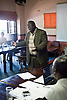 Deputy Secretary of the Law Society of Zimbabwe, Wilbert Mandinde at the beginning of his presentation about public interest litigation on May 17.