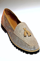 Calçados produzidos pela Abracol.<br /> Castanhal, Pará, Brasil.<br /> Foto Lucivaldo Sena<br /> 2005