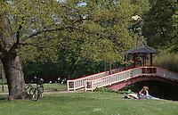 Daenemark, Park Frederiksberg Have in Kopenhagen