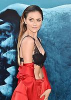 AUG 06 'The Meg' LA Film Premiere Arrivals