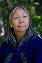 July 17 thru 23 / Alaska / Vacation and stock photography / Native Alaskan portraits taken in and around the Alaska Native Heritage Center near Anchorage Alaska / Photo by Bob Laramie