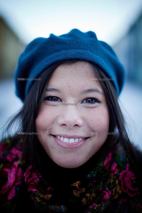 Oslo, Norge, 10.01.2013. Lan Marie Nguyen Berg til livet spalten. Foto: Christopher Olssøn.