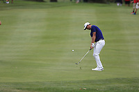 Adam Scott (AUS) chips into the 2nd green during Sunday's Final Round of the WGC Bridgestone Invitational 2017 held at Firestone Country Club, Akron, USA. 6th August 2017.<br /> Picture: Eoin Clarke | Golffile<br /> <br /> <br /> All photos usage must carry mandatory copyright credit (&copy; Golffile | Eoin Clarke)
