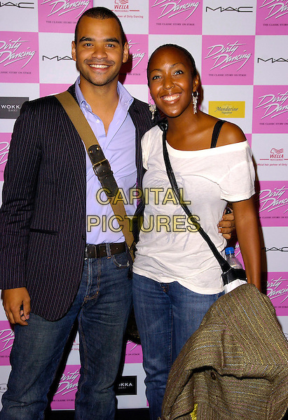 "ANJELICA BELL & GUEST.At the World Premiere of ""Dirty Dancing: The Classic Story On Stage"" Aldwych Theatre, London, England, .October 24th 2006..half length anjellica.Ref: CAN.www.capitalpictures.com.sales@capitalpictures.com.©Can Nguyen/Capital Pictures"