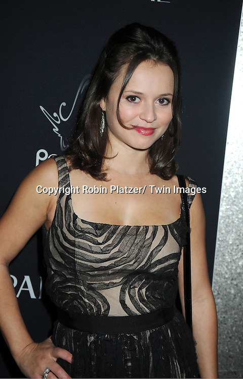 Sasha Cohen attends the Vanidades Magazine  Icons of Style Gala on September 27, 2012 at the Mandarin Oriental Hotel in New York City.