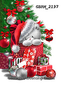 Roger, CHRISTMAS ANIMALS, WEIHNACHTEN TIERE, NAVIDAD ANIMALES, paintings+++++,GBRM2197,#xa#