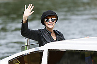 VENICE, ITALY - September 1st: Susan Sarandon arrives at Darsena Excelsior during 74th Venice Film Festival at Excelsior Hotel on September 1st, 2017 in Venice, Italy. (Mark Cape/insidefoto)