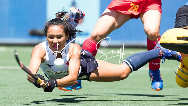 BREDA - Motomi Kawamura (Jap)  during Japan v China ,  4 Nations Trophy women 2018 .  COPYRIGHT KOEN SUYK