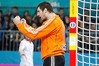 Spain and Croatia during 23rd Men's Handball World Championship preliminary round match, in the pic: Mirko Alilovic. January 19 ,2013. (ALTERPHOTOS/Caro Marin) /NortePhoto
