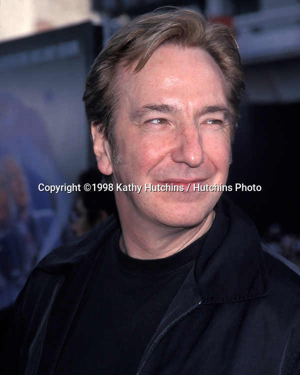 "Alan Rickman .""Galaxy Quest"" Premiere.Dec 19 1999.Hollywood, CA.©2006 Kathy Hutchins / Hutchins Photo...."