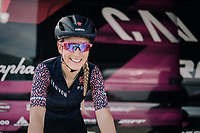 Pauline Ferrand-Prevot (FRA/Canyon-SRAM) warming up for La Course in Marseille (racing on the same circuit ahead of the men)<br /> <br /> La Course by Le Tour 2017<br /> (at the 104th Tour de France)<br /> Stage 2 - Marseille &rsaquo; Marseille (22.5km)