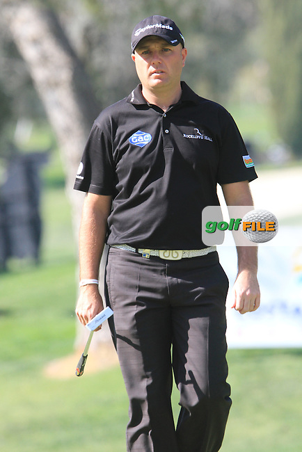 Graham Storm (ENG) on the 17th on Day 3 of the 2012 Open de Andalucia Costa del Sol at Aloha Golf Club, Marbella, Spain...(Photo Jenny Matthews/www.golffile.ie)