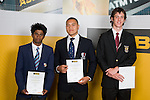 Boys Athletics Finalists, Avantha Hewavitharana, Keri Tongalea & Michael Whitehead. ASB College Sport Young Sportperson of the Year Awards 2007 held at Eden Park on November 15th, 2007.
