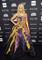 NEW YORK, NY - SEPTEMBER 08: Nicki Minaj attends the 2017 Harper's Bazaar Icons at The Plaza Hotel on September 8, 2017 in New York City. <br /> CAP/MPI/JP<br /> &copy;JP/MPI/Capital Pictures