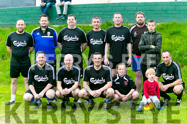 Turners Bar Team at the  Inter Firm seven a-side soccer blitz  in aid of local charities at the Low Field, Tralee on Saturday