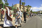 The Great Walk Jerusalem-Emmaus in Abu Gosh on Easter Monday