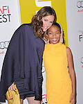 Jennifer Garner and Yara Shahidi at The AFI FEST 2011 - BUTTER Special Screening held at The Grauman's Chinese Theatre in Hollywood, California on November 06,2011                                                                               © 2011 Hollywood Press Agency