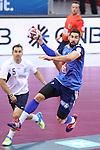 handball wordl cup match between France vs Argentina. nykola karabatic . 2015/01/26. Doha. Qatar. Alberto de Isidro.Photocall 3000